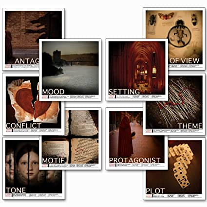 Amazoncom Literary Devices Laminated Educational Poster Series