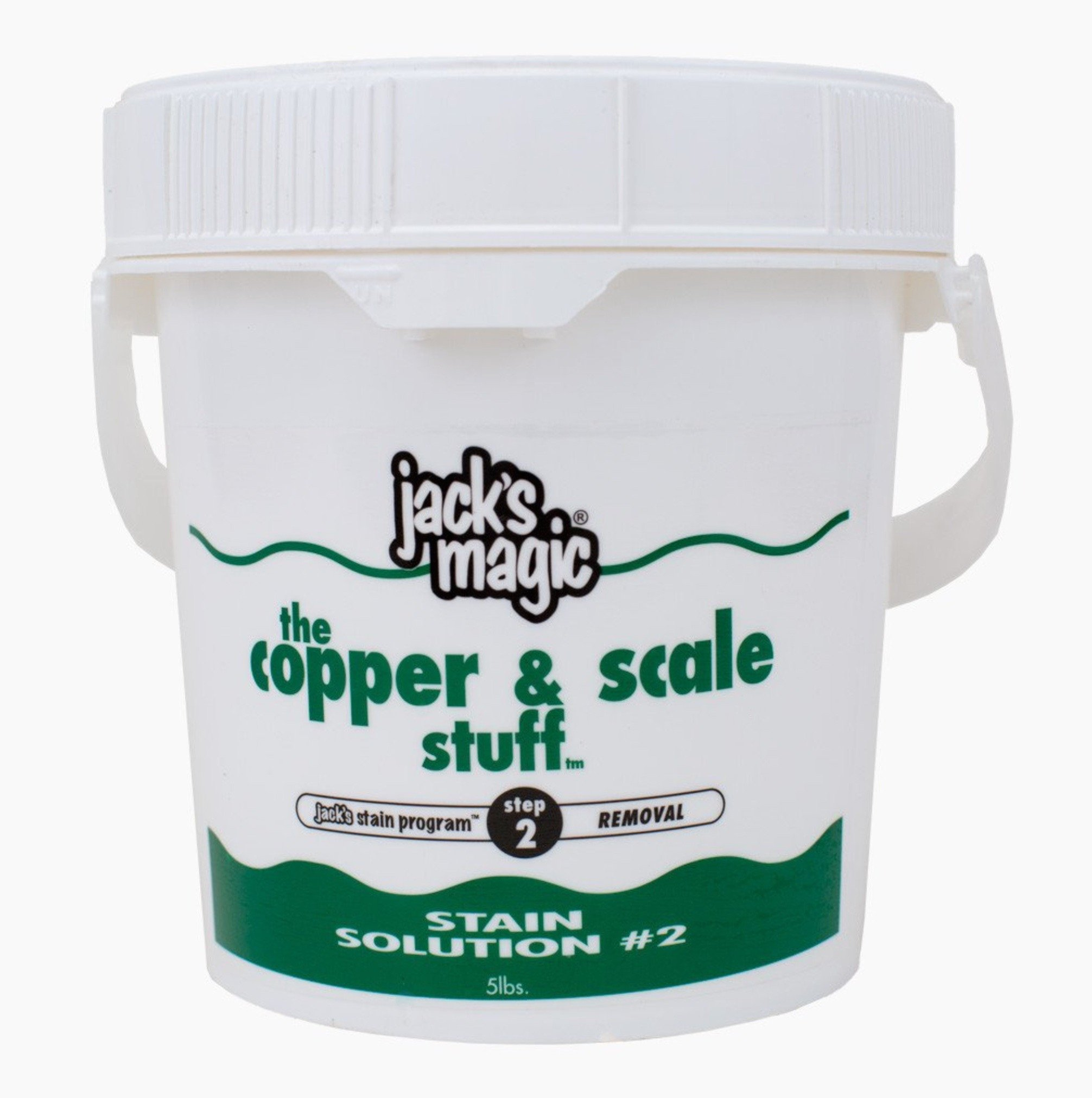 Jack's Magic The Copper & Scale Stuff Stain Solution 2 (5 lb) (2 Pack) by Jack's Magic Products