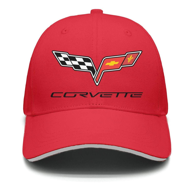 Adjustable Caps Womens Mens NIDHBD Funny Corvette-Logo-symol-Emblem