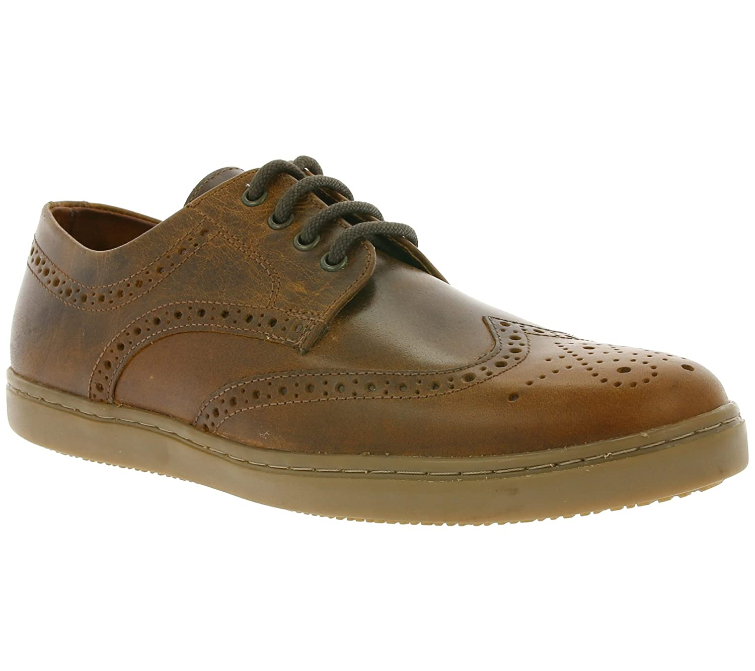 95b76c381960 Red Tape Girvan Men s Genuine Leather Lace-up Shoes Brown M18600 05 ...