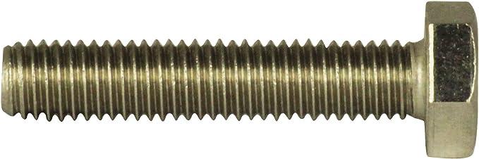 25 St/ück M8 x 70 mm Sechskantschrauben Niro Edelstahl A2 VA V2A DIN 933 Maschinenschrauben Gewindeschrauben