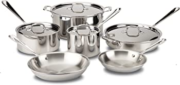 All-Clad D3 Stainless Cookware Set