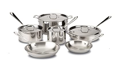 Review All-Clad Cookware Set, Pots