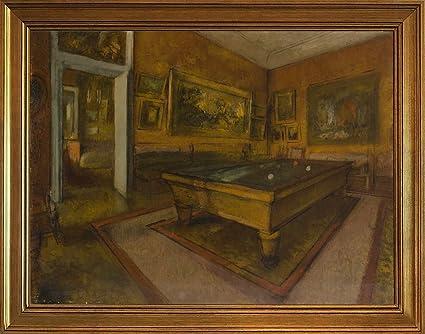Sala Da Biliardo Degas : Berkin arts con cornice edgar degas giclée tela stampa la pittura