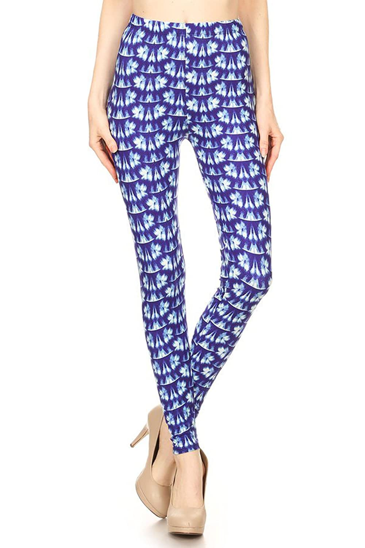 85160b4cded063 Leggings Mania Women's Regular Plus (XS-3XL) Printed High Waist Ultra Soft  Always Leggings - Many Patterns at Amazon Women's Clothing store: