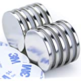 DIYMAG Powerful Neodymium Disc Magnets, Strong, Permanent, Rare Earth Magnets. Fridge, DIY, Building, Scientific, Craft…