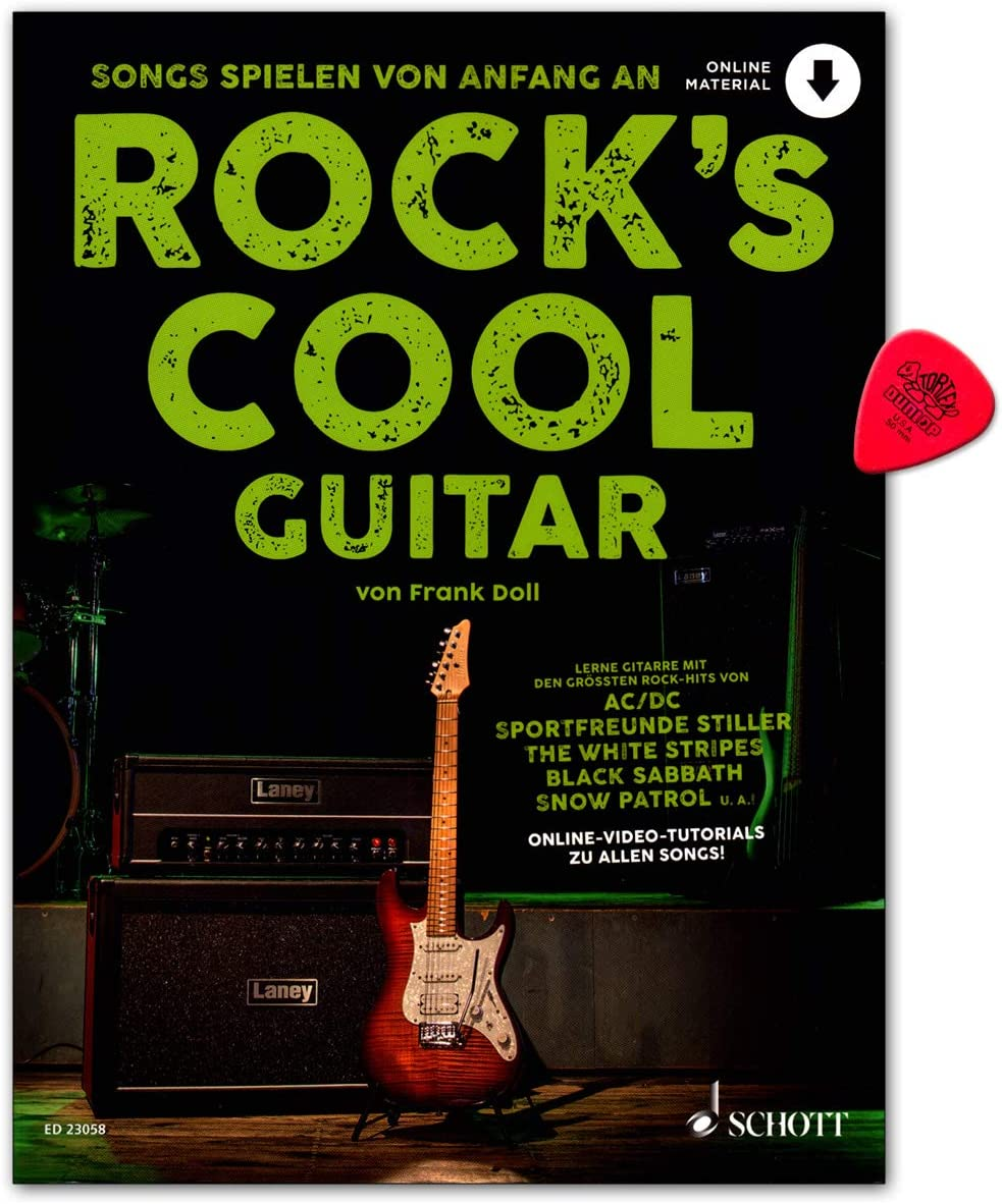 Rocks Cool GUITAR – Las canciones juegan desde el principio en la ...