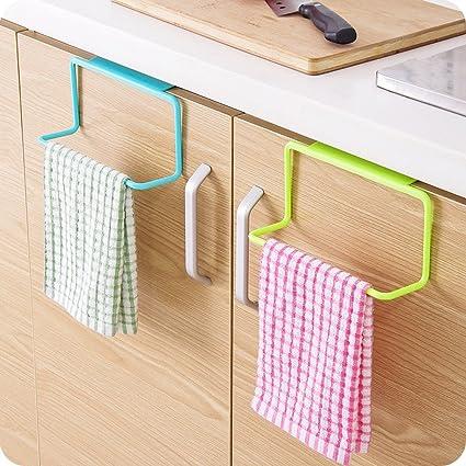 Towel Rack Hanging Holder Organizer Bathroom Home Cabinet Cupboard Hanger Rack