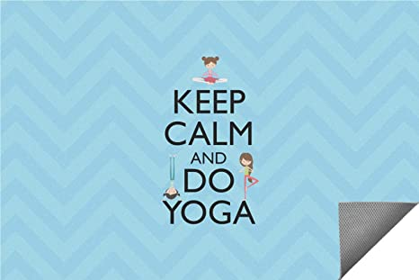Amazon.com: Keep Calm & Do de yoga alfombra Interior ...