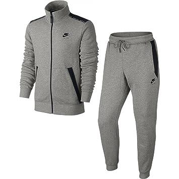 66a99c1f4829b Nike Hybrid Track Suit Survêtement Homme, Gris/Noir: Amazon.fr ...