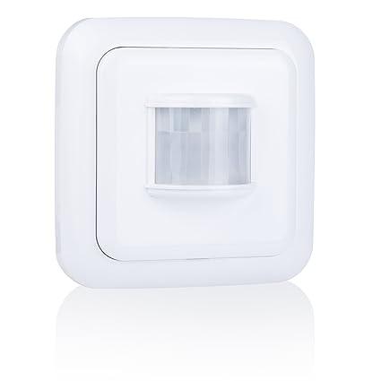 Smartwares Smarthome - Transmisor de Interior Detector de Movimiento inalámbrico con batería, Color Blanco