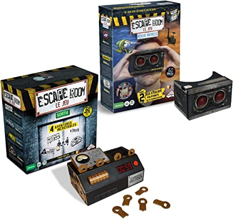RIVIERA GAMES - Juego de 4 Aventuras (Incluye Estuche de Realidad Virtual): Amazon.es: Juguetes y juegos