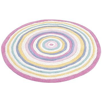 Amazon.com: JOJO maman bebe Círculo Alfombra, pastel, diseño ...
