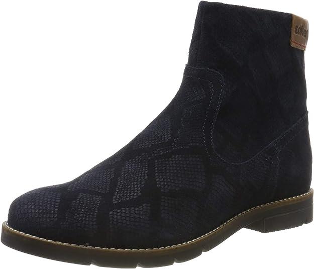s.Oliver Women's 5-5-25370-23 Ankle Boots, Blue (Navy Python 845), 5.5 UK,s.Oliver,5-5-25370-23