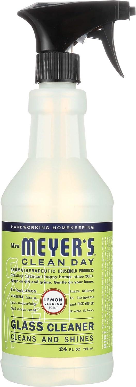 Mrs. Meyer's Clean Day Glass Cleaner, Lemon Verbena, 24-Ounce