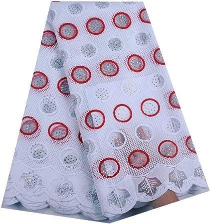 Tela africana del cordón Las telas africanas del cordón, telas leche tela de seda de encaje