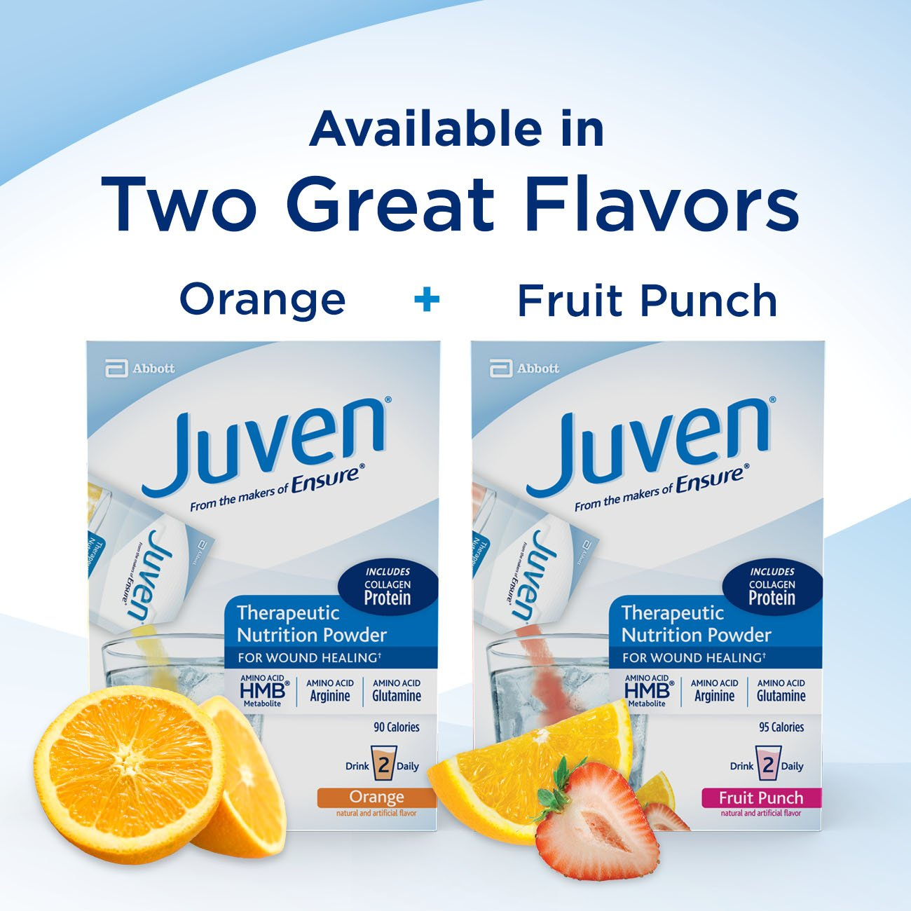 Juven Therapeutic Nutrition Drink Mix Powder for Wound Healing Includes Collagen Protein, Unflavored, 30 Count by Juven (Image #8)