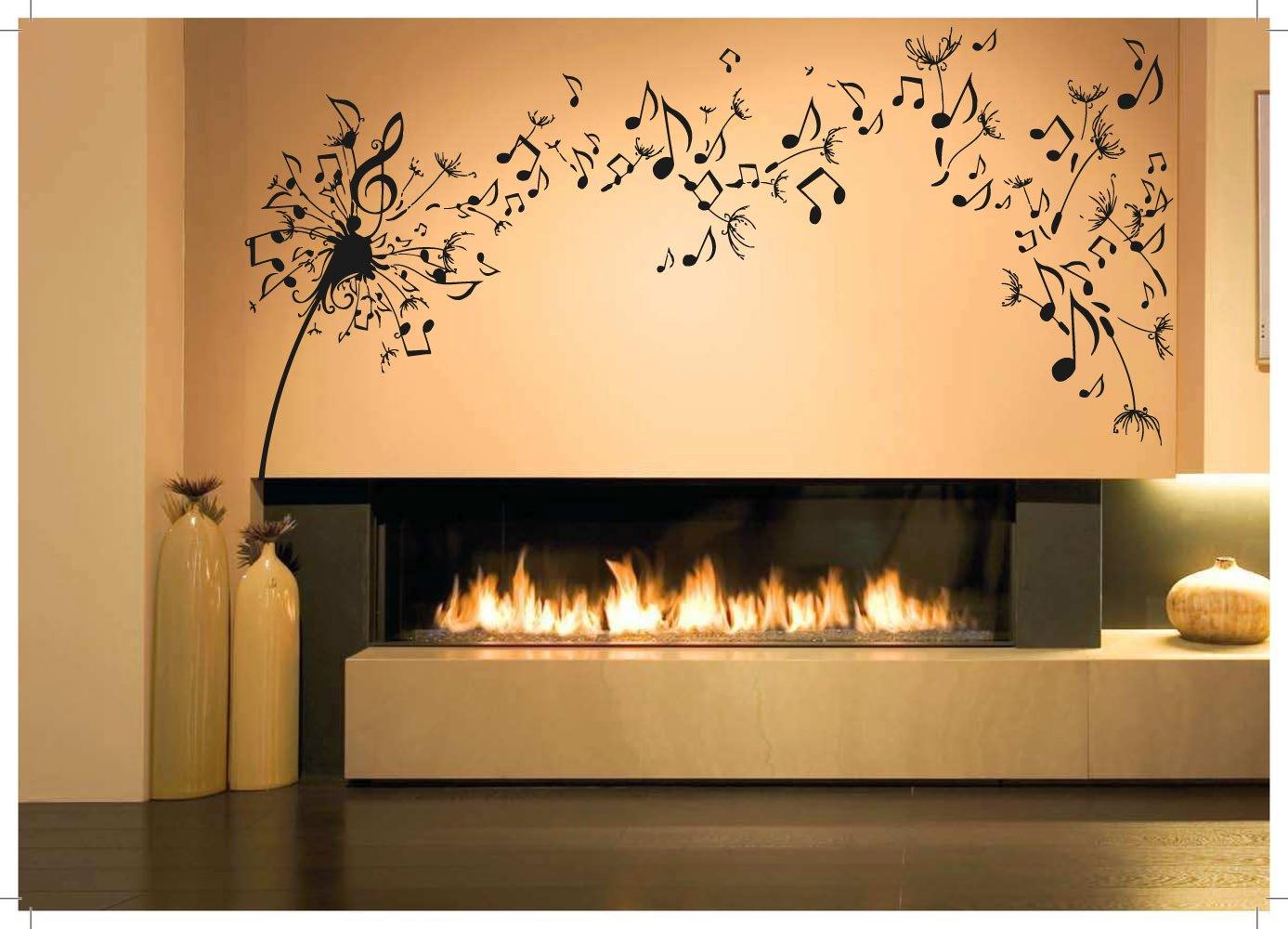 Amazon.com: Wall Room Decor Art Vinyl Sticker Mural Decal Dandelion ...