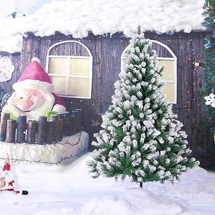 Christmas Tree Spray Snow.Amazon Com Ampm24us Large 1 2 1 5 1 8m Spray Snow White