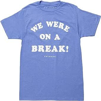 Ripple Junction Friends We were On a Break Adult T-Shirt