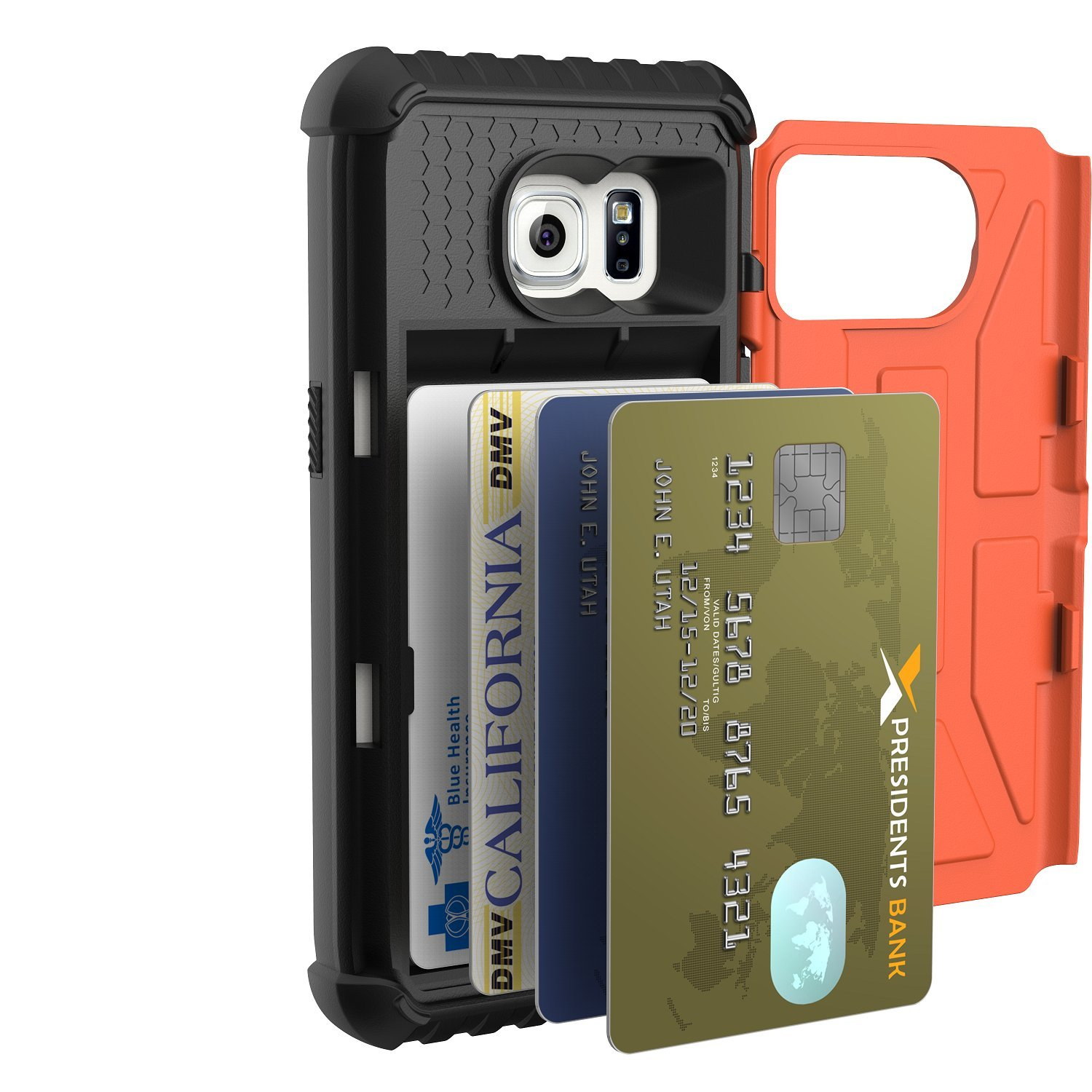 Galaxy s6 cases shop samsung cases online uag urban armor gear - Amazon Com Uag Samsung Galaxy S7 5 1 Inch Screen Trooper Card Case Rust Feather Light Military Drop Tested Phone Case Cell Phones Accessories