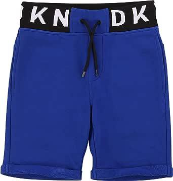 DKNY - Pantalón corto con cintura de jacquard para niño