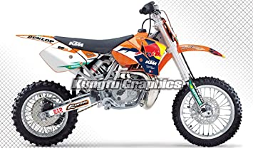 Kungfu Graphics 2002-2008 KTM 65 SX Complete Graphic Decal