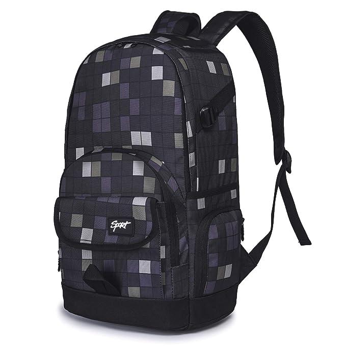 Amazon.com: Mochila escolar Ricky-H Lifestyle bolsa de viaje ...