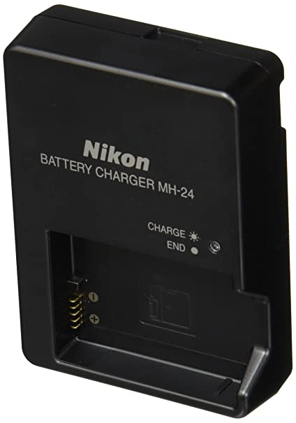 Amazon Com Nikon Mh 24 Quick Charger For En El14 Li Ion Battery