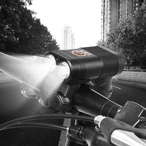 Luz Delantera De La Bicicleta Super Brillante Impermeable Luz De ...