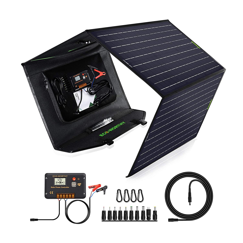 ECO WORTHY Foldable Solar Panel Kit 120 W