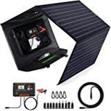ECO-Worthy Upgrade 120 Watt Foldable Solar Panel Battery Charger Kit for Portable Generator Power Station with 20A…