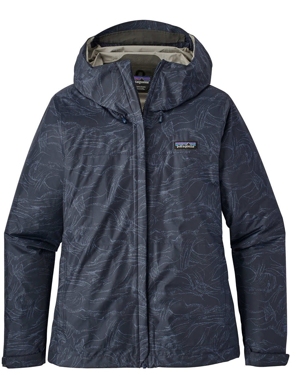 Patagonia Women's Torrentshell Jacket Lamp Lights: Navy Blue (Large, Lamp Light: Navy Blue)
