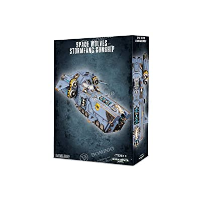 Space Wolves Stormfang Gunship Warhammer 40K: Toys & Games