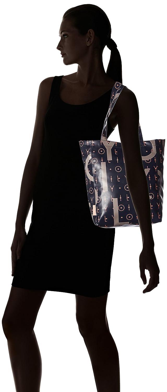 Blu Letters Mvz dark Shopper Blue Donna Lori Oilily Borsa ZYT4q5aw5