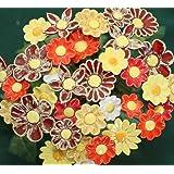 ROWE Deko Blumenset 10 Keramikblumen Sommer