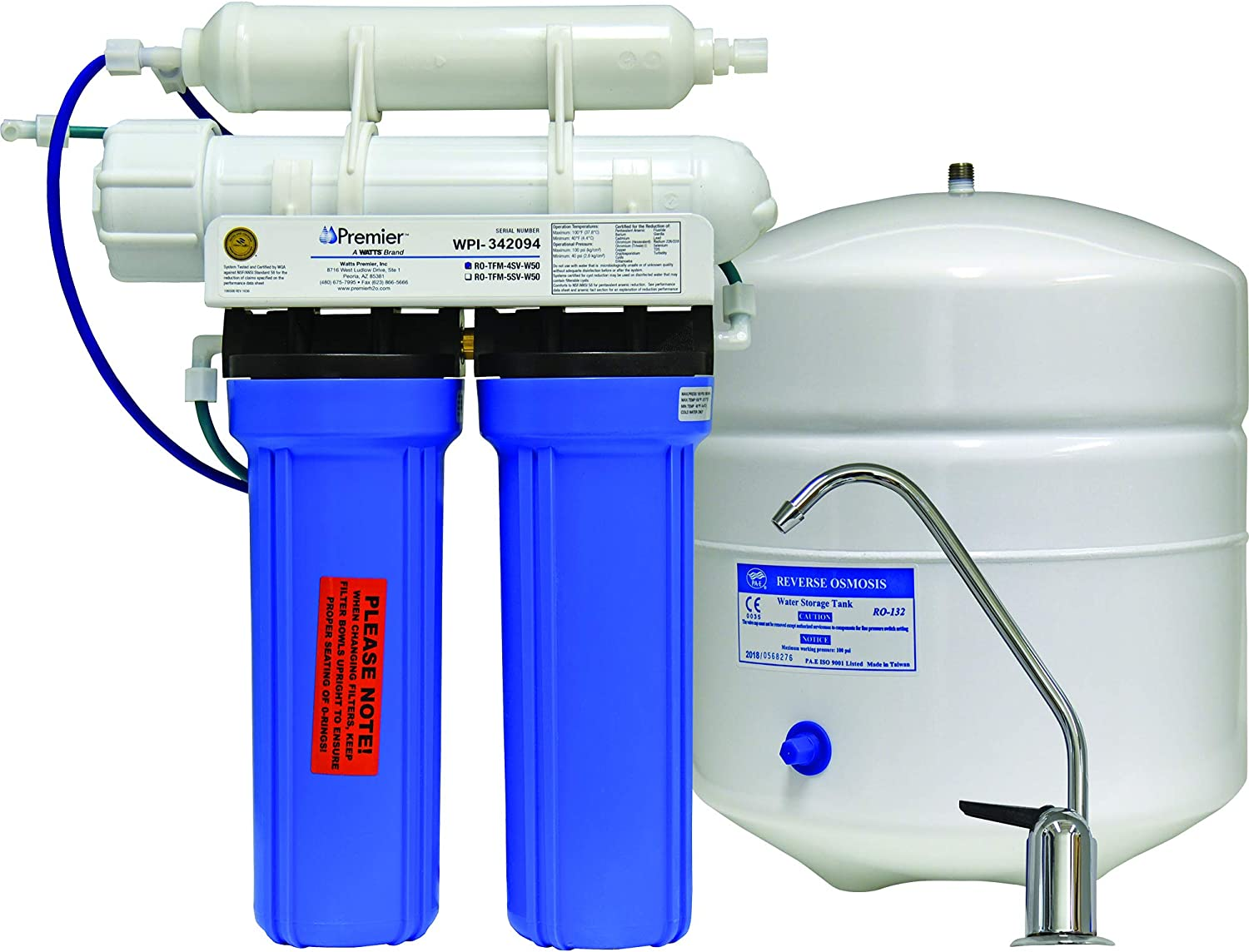 Watts Premier 4SV 500025 Reverse Osmosis System