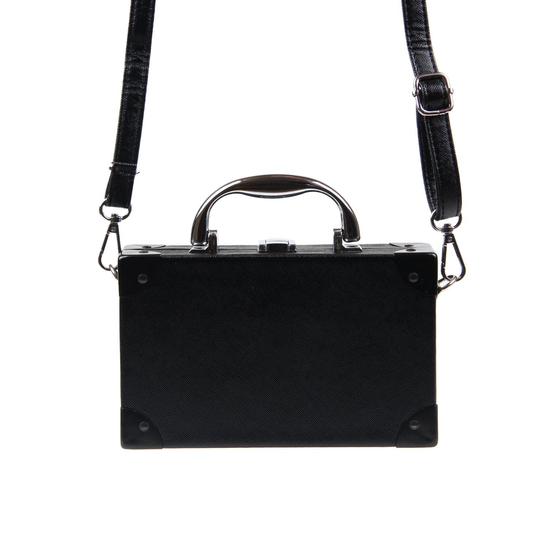 bc8b8ca286ca Kuang Women's Retro Radio Shaped Clutch Shoulder Bag Novelty Vintage Style  Crossbody Bag Handbag