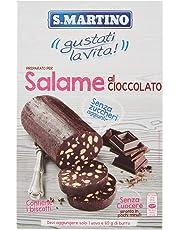 S.Martino - Salame al Cioccolato Senza Zucchero - Astuccio 300G