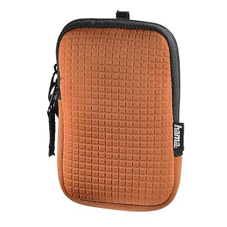 Hama 00126660 Caja compacta Naranja estuche para cámara ...