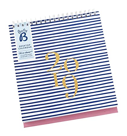 Amazon.com : Busy B 2019 Desktop Calendar : Office Products