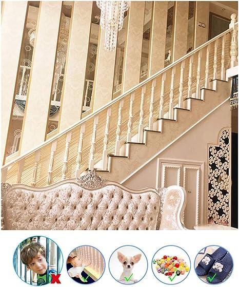 HUANPIN Red de Seguridad para Balcones | Red de Protección para Escaleras Balcones Terrazas PuertasVentanas Bebé Mascota | Red de Seguridad Escaleras Malla de Niños,Mascotas Blanco: Amazon.es: Deportes y aire libre