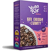 Yogabar Wholegrain Breakfast Muesli - Dark Chocolate + Cranberry, 400g