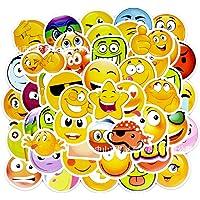AzuNaisi 1set (50pcs) Emoji Estilo de Dibujos Animados