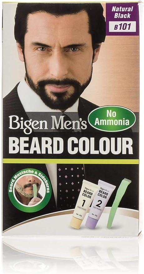 Bigen Barba Hombre Natural Negro B101
