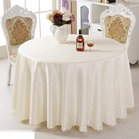 Round Tablecloth,Fabric European Hotel Tablecloth,Simple Modern Round  Tablecloth D Diameter360cm(