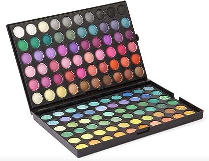 Paleta de sombras de ojos de LaRoc, 120 unidades, maquillaje profesional: Amazon.es: Belleza