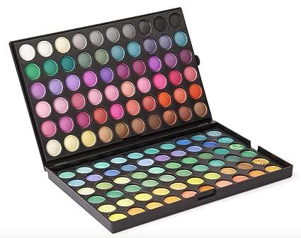 120 colores de sombra de ojos sombra de ojos paleta de maquillaje Kit Set Maquillaje Caja Profesional