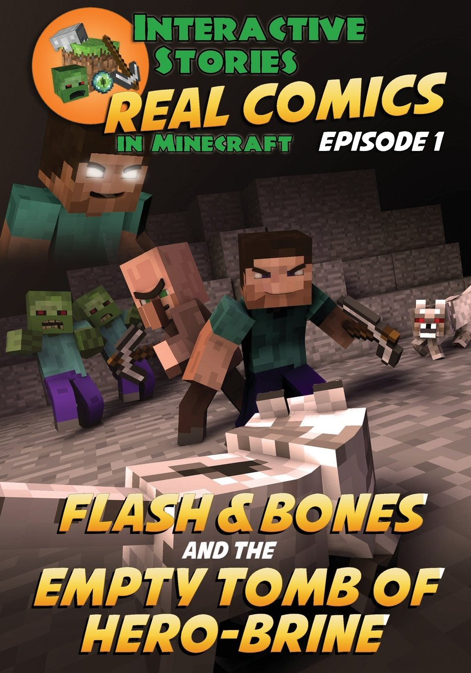 Amazon Com Flash And Bones And The Empty Tomb Of Herobrine Real