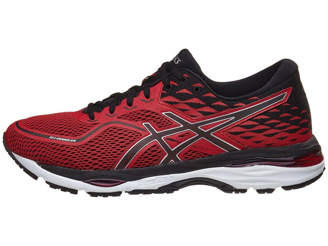 ASICS Men's Gel-Cumulus 19 Running Shoe B071JN6PZT 9.5 D(M) US|Prime Red/Black/Silver